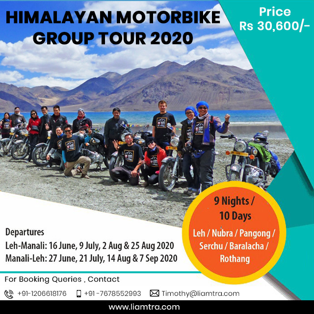 Himalayan Motorbike Group Tour 2020 Image