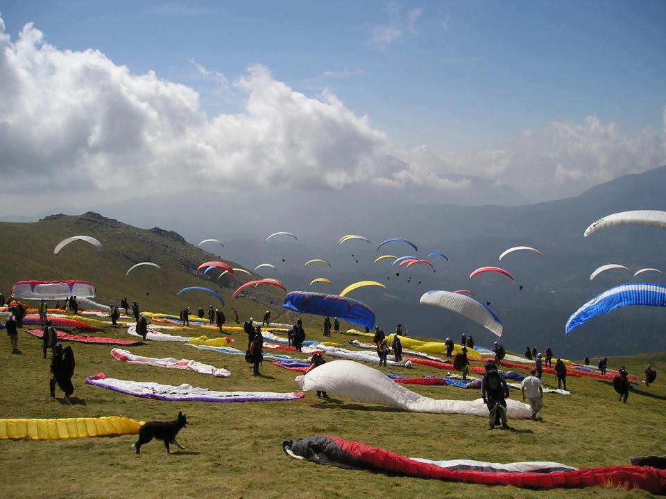 Paragliding Image